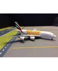 GEMINI JETS 1:400 Emirates A380-800 Orange Expo A6-EOU GJ1815