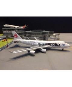 JCWINGS 1:400 Cargolux 747-400FER Sea Life Trust LX-ECV XX4205