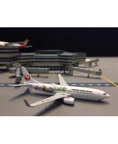 JCWINGS 1:400 JAL 737-800 Shimajiro Jet JA330J EW4738004