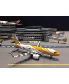 JCWINGS 1:400 Scoot A320NEO 9V-TNA XX4078