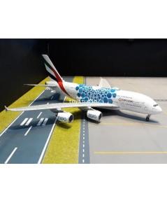 Gemini Jets 1:200 Emirates A380 A6-EOC Blue Expo 2020 G2779
