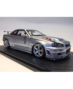 Ignition Model 1:18 Nismo R34 GT-R Sil IG1829