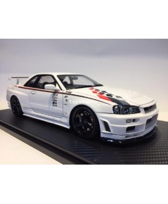 Ignition Model 1:18 Nismo R34 GT-R Whi IG1828