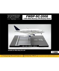 FantasyWings 1:200 Hong Kong Airport Runway 07R Display SC2008