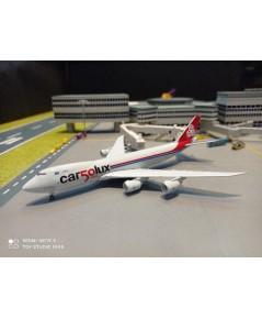 HW534550 1:500 Cargolux 747-8F 50th Ann LX-VCC [Width 14 Length 15 Height 3.5 cms.]