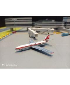 HW534062 1:500 Swissair SE-210 Caravelle Uri HB-ICS [Width 7 Length 6.5 Height 2 cms.]