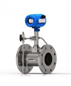 Vortex Flowmeter เครื่องวัดอัตราการไหลของแก๊ส อากาศอัด ไอน้ำ ของเหลว มาพร้อมอุปกรณ์ชดชดเชยค่าอุณหภูม