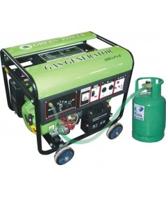 เครื่องกำเนิดไฟฟ้าแบบใช้แก๊ส (LPG/NGV) 5000W  แบบ Permanent Magnet