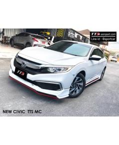 ชุดแต่ง Civic FC 2019 ทรง TTS Plus สเกิร์ตรอบคัน สปอยเลอร์ ฮอนด้า ซีวิต Civic 2019 ใหม่ล่าสุด