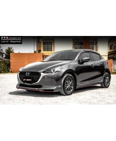 ชุดแต่ง Mazda2 2019 2020 5ประตู hatchback ทรง STROM ,สเกิร์ตมาสด้า2 5ประตู สปอร์ตใหม่ ราคาไม่แรง