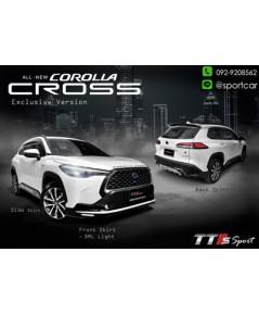 ชุดแต่ง Toyota Cross TTS SPort สเกิร์ต โตโยต้า ครอส,ของแต่ง toyota cross แต่งสวย
