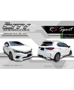 ชุดแต่ง City hatchback RS Sport 5ประตู City 2020 Turbo สเกิร์ตรอบคัน ฮอนด้า ซิตี้ แต่งสวย