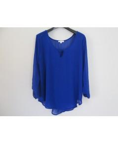 เสื้อคนอ้วนไซส์ใหญ่พิเศษ ความกว้างของเสื้อ ผ้าชีฟอง  50-52  นิ้วยาว 28 นิ้ว
