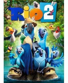 Rio 2 ริโอ้ ภาค 2 (พากย์+ซับ 2 ภาษา : ไทย/อังกฤษ) DVD 1 แผ่น