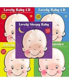 Lovely Baby Music Series (CD Mp3) 1 แผ่น รวม 48 เพลง