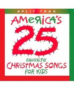 เพลงคริสต์มาสภาษาอังกฤษ Americas 25 Favourite Christmas Songs for Kids (เสียงอังกฤษ) CD-Mp3/1 แผ่น