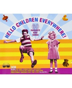 Hello Children Everywhere! 60 Songs For Kids (เสียงอังกฤษ) CD MP3/ 1 แผ่น