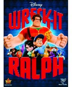 Wreck-It Ralph ราล์ฟ วายร้ายหัวใจฮีโร่ (DVD 1 แผ่น) พากย์+ซับไทย/อังกฤษ *สินค้าแนะนำ