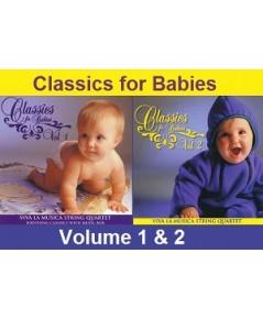 Classics For Babies Vol.1+2 (CD Mp3 1 แผ่น) รวมจาก 2 แผ่นไว้ใน 1 แผ่น สุดคุ้ม!
