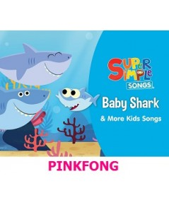 Baby Shark PINKFONG Best Kids Songs Vol.1-2/ CD MP3 1 แผ่น รวม 85 เพลง