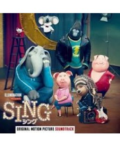Sing (Original Motion Picture Soundtrack Deluxe) CD MP3 1 แผ่น รวม 25 เพลง