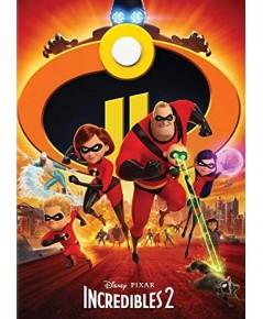 The Incredibles 2 รวมเหล่ายอดคนพิทักษ์โลก ภาค 2 (พากย์+ซับ ไทย,อังกฤษ) DVD 1 แผ่น