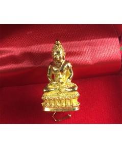 พระกริ่งโภคทรัพย์ เนื้อทองคำ ปี 2535 สมเด็จญาณสังวร ทรงเททอง สภาพสวยกิ๊ป ทองคำหนัก 18 กรัม ครับ.....