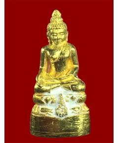 พระกริ่งไพรีพินาศ ญสส.รุ่น นวฤทธิ์โภคทรัพย์  ปี 2544 สร้าง 80 องค์ เนื้อทองคำ หนัก(เช่าบูชาไปแล้ว)