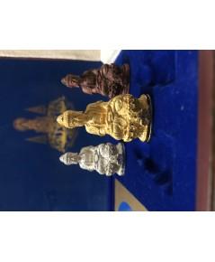 พระกริ่งต้าเยิ่นต๊ะ ชุดทองคำ เงิน ทองแดง ทองคำ พิธียิ่งใหญ่ ทองคำหนัก 40 กรัม  (เช่าบูชาไปแล้ว)