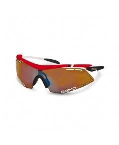 แว่นตา BRIKO รุ่น Endure Pro Team สีดำ/แดง/ขาว