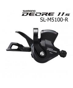 มือเกีย DEORE SL-M5100-R 11S ข้างขวาข้างเดียว แบบมีจอหน้าปัด