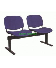 เก้าอี้พักคอย เก้าอี้แถว รุ่น UN-064 แบบ 2,3,4 ที่นั่ง