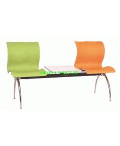 เก้าอี้พักคอย เก้าอี้แถว รุ่น UN-109-2S  แบบ 2 ที่นั่ง