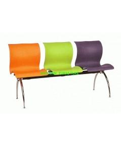 เก้าอี้พักคอย เก้าอี้แถว รุ่น UN-110-3S แบบ3 ที่นั่ง