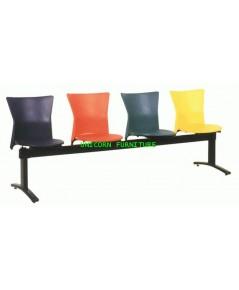 เก้าอี้พักคอย เก้าอี้แถว รุ่น UN-123 แบบ 2 ,3 , 4 ที่นั่ง