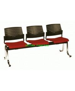 เก้าอี้พักคอย เก้าอี้แถว รุ่น UN-618 แบบ 2 ,3 , 4 ที่นั่ง
