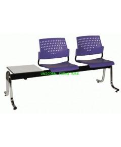 เก้าอี้พักคอย เก้าอี้แถว รุ่น UN-624 แบบ 2 ที่นั่ง