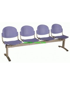 เก้าอี้พักคอย เก้าอี้แถว รุ่น UN-658 แบบ 2 ,3 , 4 ที่นั่ง