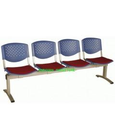 เก้าอี้พักคอย เก้าอี้แถว รุ่น UN-637 แบบ 2 ,3 , 4 ที่นั่ง