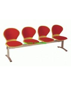 เก้าอี้พักคอย เก้าอี้แถว รุ่น UN-673 แบบ 2 ,3 , 4 ที่นั่ง