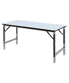 โต๊ะขาพับ โต๊ะประชุม Conference table โต๊ะหน้าขาว แบบเหลี่ยม หนา 19มิล