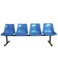 เก้าอี้โพลี แบบ 4 ที่นั่ง CLF-814