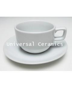 ชุดกาแฟ สีขาว เกรดบี