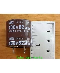 C Nippon Chemicon 82 uF 400V