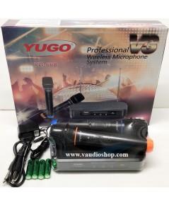 Wireless Microphone YUGO YG-668 V3 ถือคู่ VHF