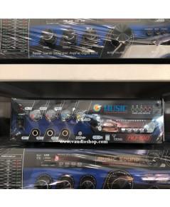 เครื่องขยายเสียง DC ติดรถยนต์ 100W MUSIC รุ่น AU-100 USB