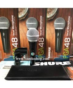 ไมโครโฟน SHURE PGA48-LC ของแท้ รับประกันมหาจักร