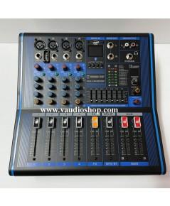 Power Mixer PROEUROTECH PMX-XP4200DSP (Effect,USB,Bluetooth)