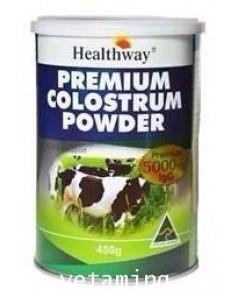 นมเพิ่มสูง Healthway Premuim Colostrum 5000igg ราคาพิเศษสุด1xxx