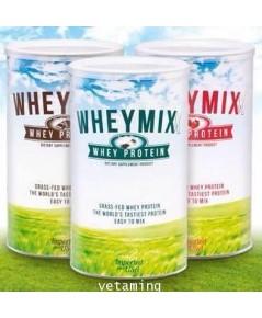 Whey Mixx Protein เวย์มิกซ์โปรตีนราคาถูกที่สุด ซื้อ 1 แถมของแถม 1 ชิ้น ฟรี!!